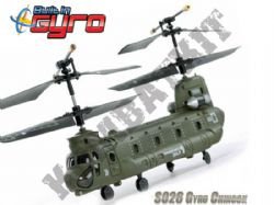 S026G 3ch IR Remote Control Boeing CH-47 Chinook Helicopter with GYRO